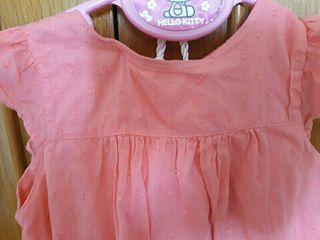 2 vestidos zippy 18-24 meses, como nuevos, coral c