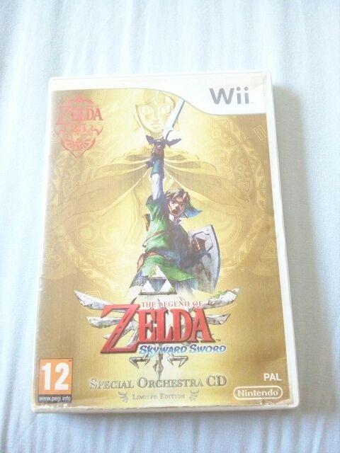 Juego De Zelda Para Wii Edicion Especial De Segunda Mano Por 24 En