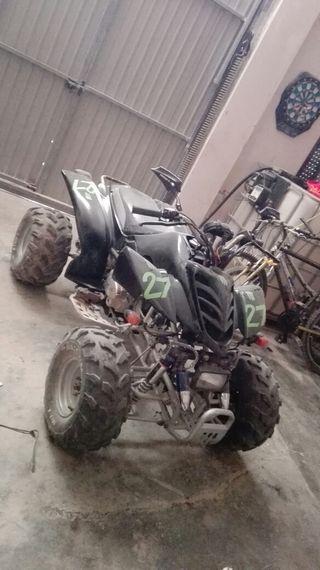 vendo o cambio quad scorpion 200 matriculado