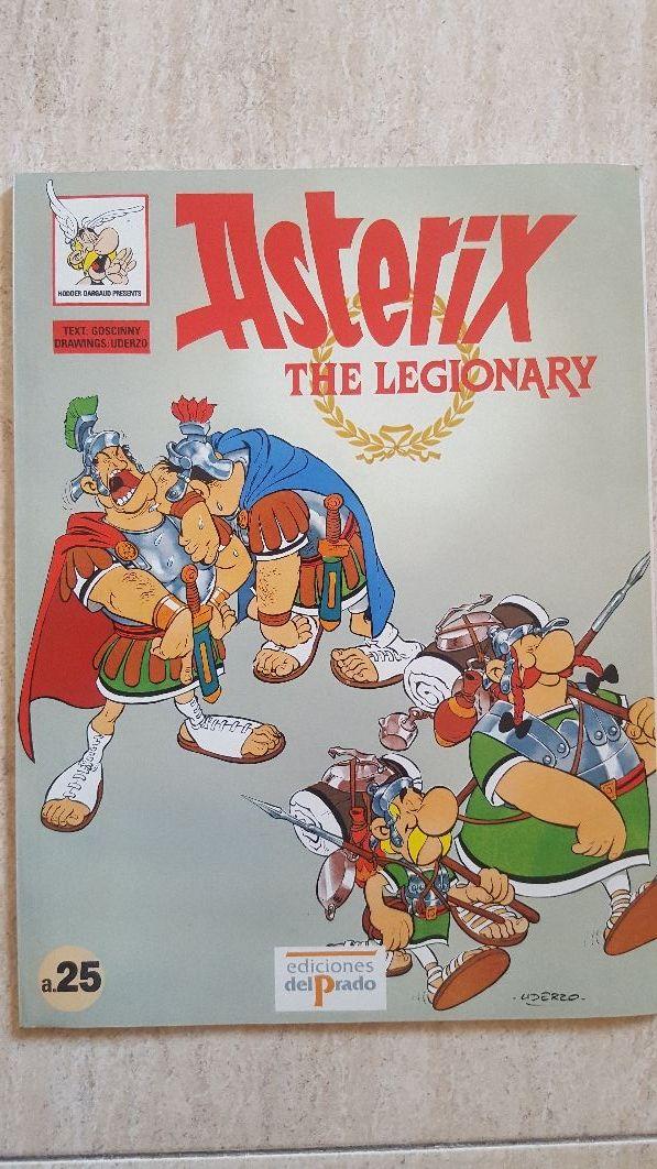 libro Asterix the legendary