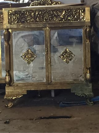 2 Armarios de bronce los dos 200€