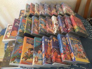 Coleccion peliculas Disney VHS