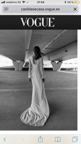 Vestido novia Intropia Atelier 2018