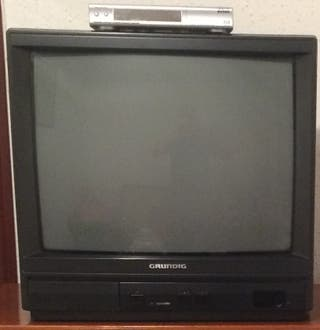 Televisor Grundig y sintonizador