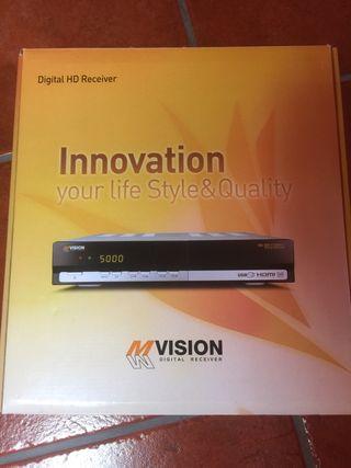 Receptor satélite combo HD Mvision 300 combo