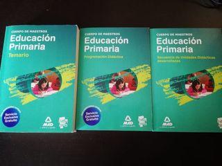 libros temario educación primaria