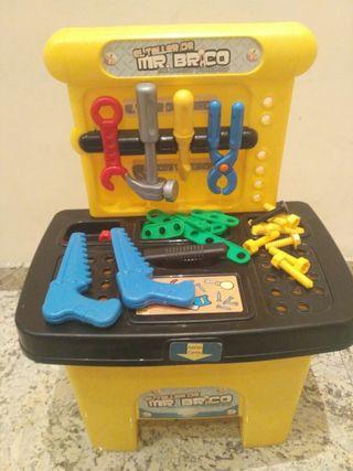 Juguete caja herramientas