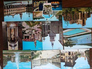 40 postales diferentes Vitoria, desde los años 60.
