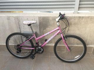 Bicicleta seminueva de 24 pulgadas