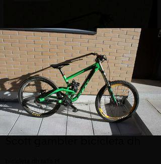 bici downhill scott gambler 2016