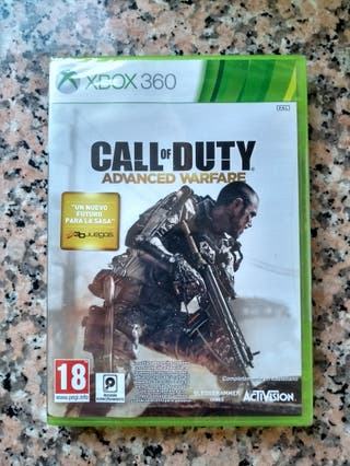 SIN ESTRENAR Call of Duty Advance Warfare Xbox360