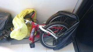 "Bicicleta plegable Topbike Young Driver 20"""