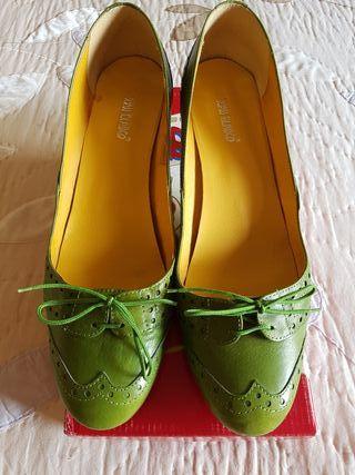 Zapatos piel n° 40