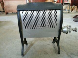 estufa de gas antigua