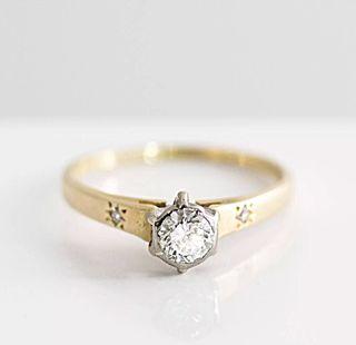 Anillo Diamante Solitario