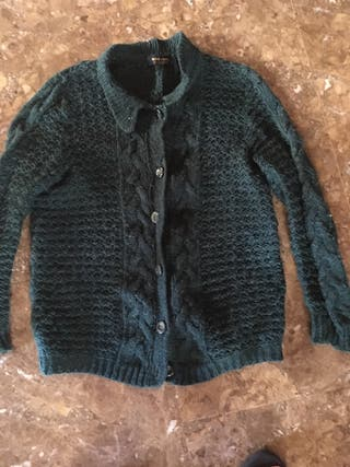 "Chaqueta de lana ""ZARA young"" talla L"