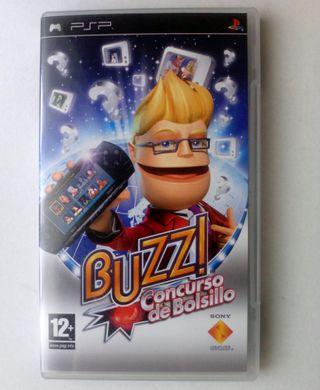 buzz concurso de bolsillo psp