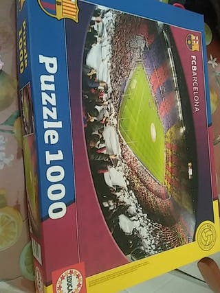 Puzzle 1000 piezas FC Barcelona