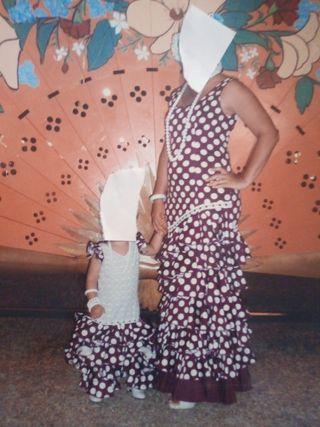 vestidos de flamencas madre e hija