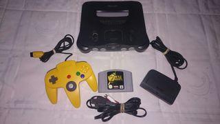 Nintendo 64 + Juego (ENVIO INCLUIDO)