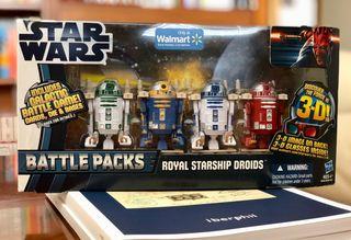 Star Wars Battlepacks Royal Starship Droids