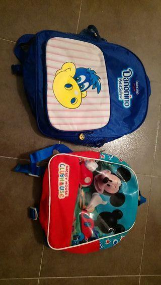 2 mochilas