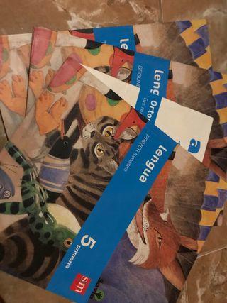 Libros de lengua de 5