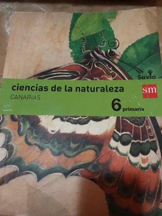 Libro de naturales de 6