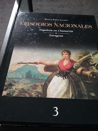 """libros """"Episodios Nacionales"""""""