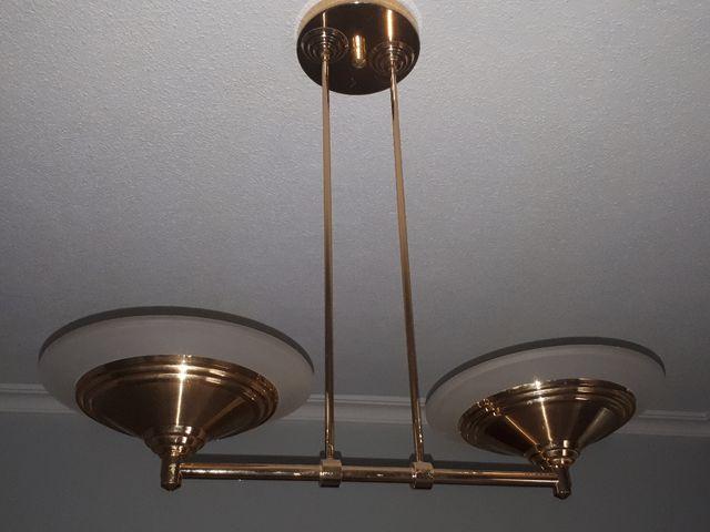 lamparas. set 3 lamparas de techo halogenas. de segunda mano por 150