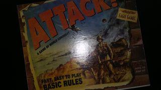 Juego de mesa de estrategia Attack