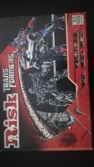 Juego mesa Risk Transformers