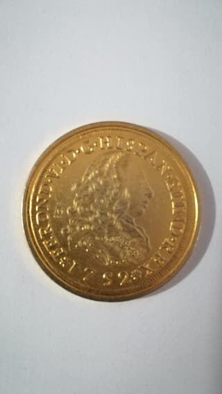moneda de 1752 FERDND VI