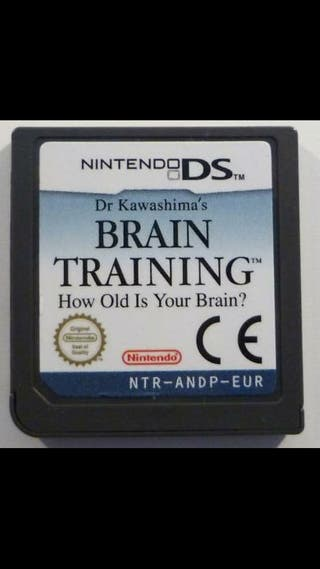 Brain Training juego Nintendo DS