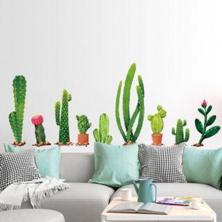 Pegatinas cactus