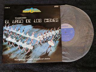 """Disco de vinilo """"El lago de los cisnes"""""""