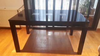 Mesa salon negra