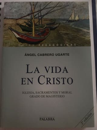 "Libro Magisterio DECA ""La Vida en Cristo"""
