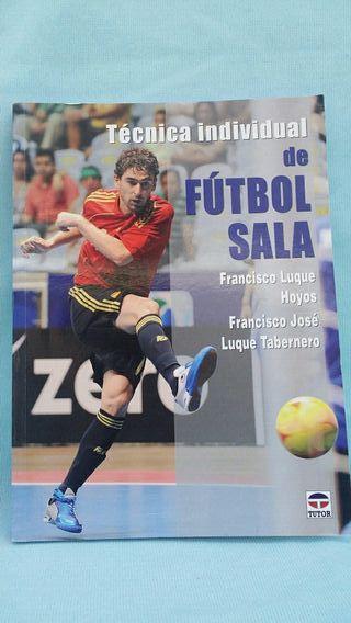 libro futbol sala