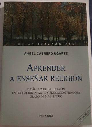 """Libro DECA """"Aprender a enseñar religión"""""""