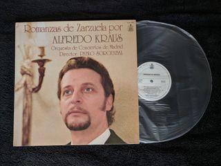 """Disco de vinilo """"Alfredo Kraus"""""""