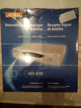 Decodificador satelite AXIL AD600/4500 NEW USUAL