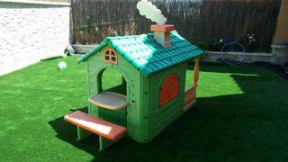 Casa jardin para niños