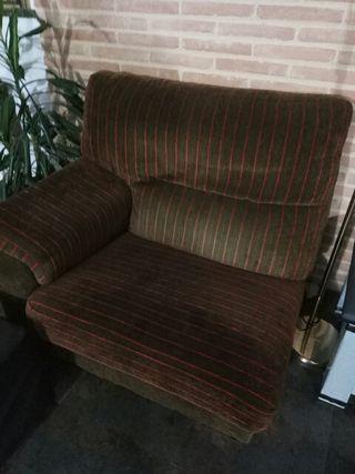 sofá grande y sillón