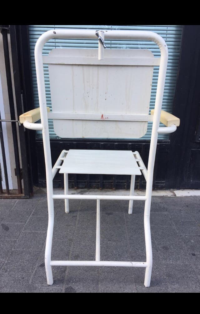 URGE sillón vintage de hierro por 45€!