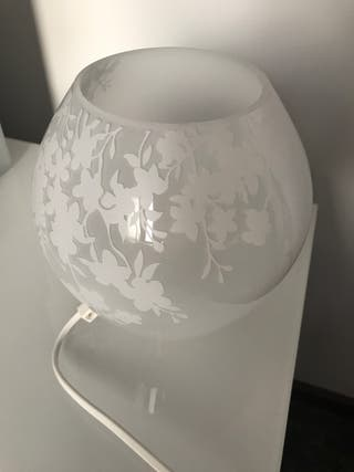 Lampara cristal templado