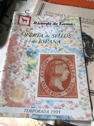 Anuarios vitolfilico y sellos