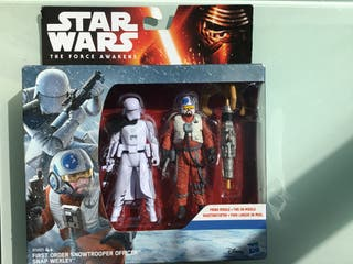 Star wars figuras snowtrooper officer ,Snap wexley