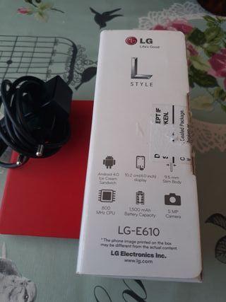 Movil LG E 610