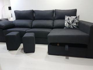 sofa nuevo con canapé abatible